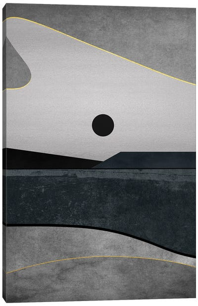 Minimal Landscape IX Canvas Art Print