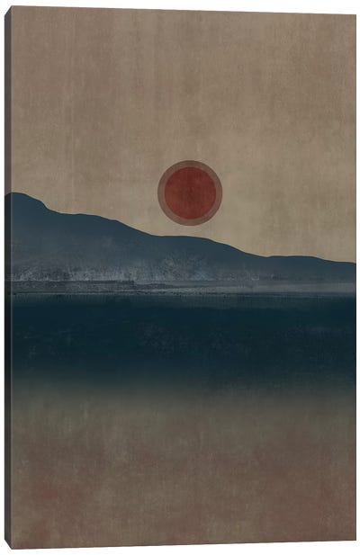 Minimal Landscape X Canvas Art Print