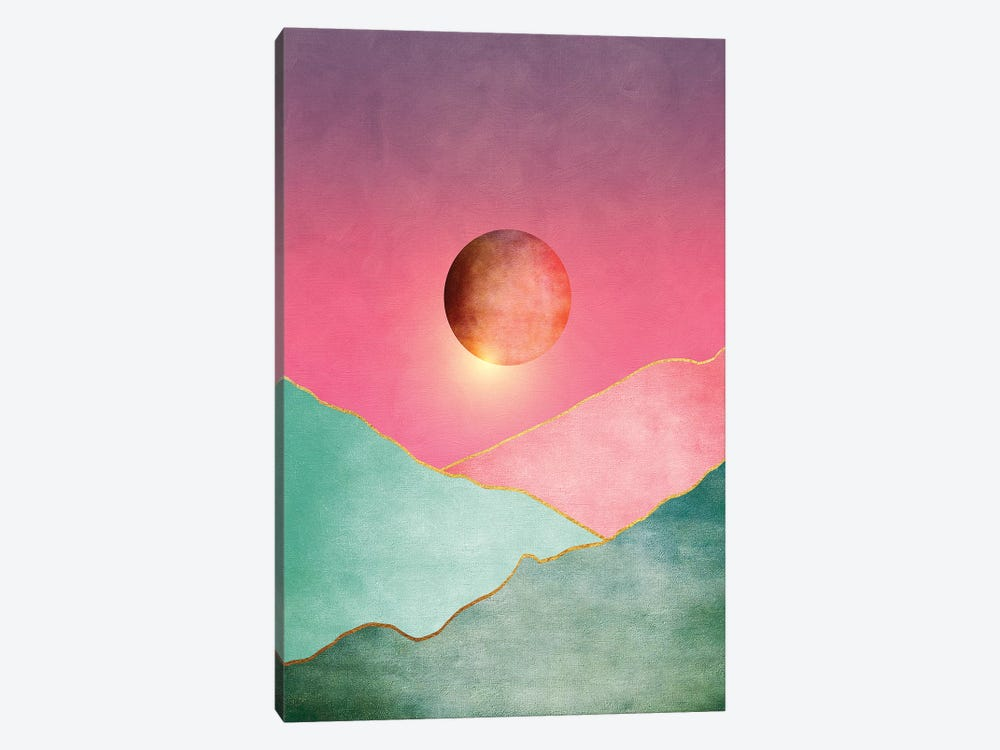 Surreal Sunset II by Marco Gonzalez 1-piece Canvas Wall Art