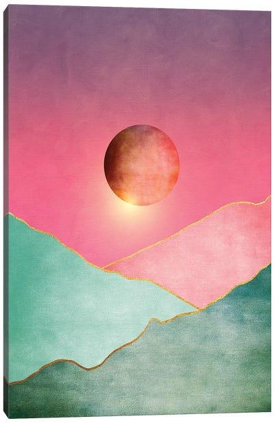Surreal Sunset II Canvas Art Print