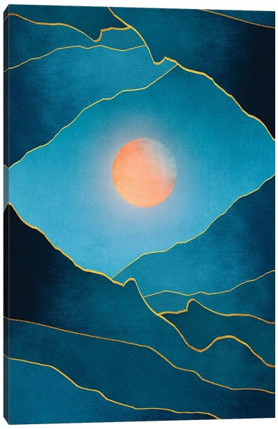 Surreal Sunset III Canvas Art Print