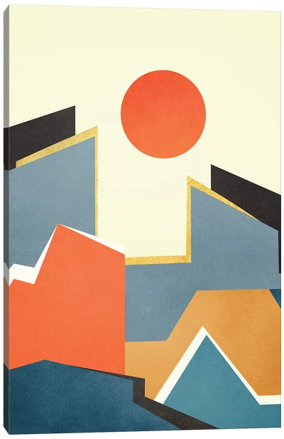 Abstract Architecture III Canvas Art Print