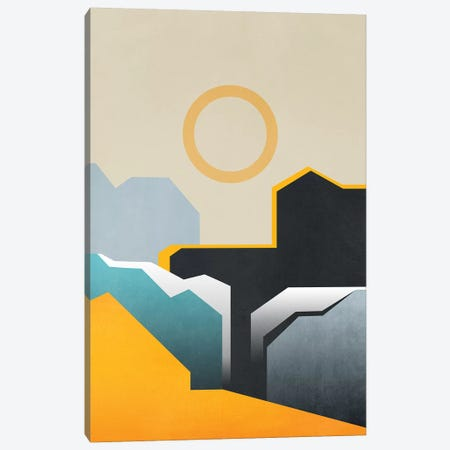 Abstract Architecture VI Canvas Print #GNZ55} by Marco Gonzalez Canvas Art
