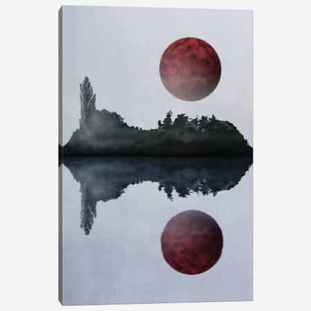 Futuristic Visions VIII Canvas Print #GNZ58} by Marco Gonzalez Art Print
