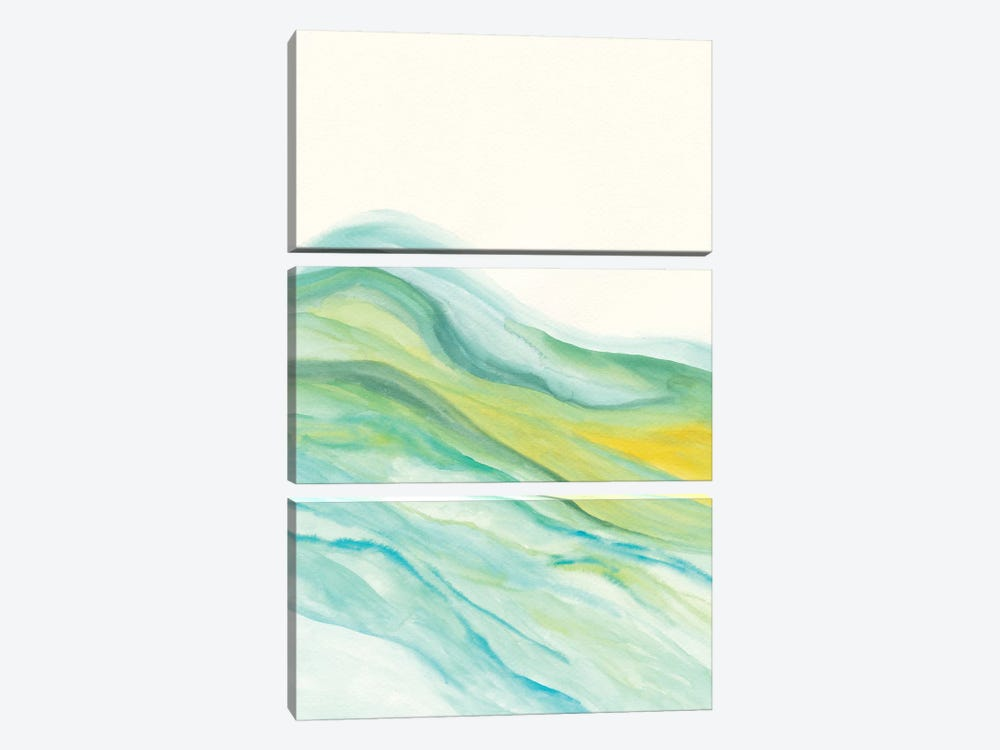 Abstract V by Marco Gonzalez 3-piece Canvas Print