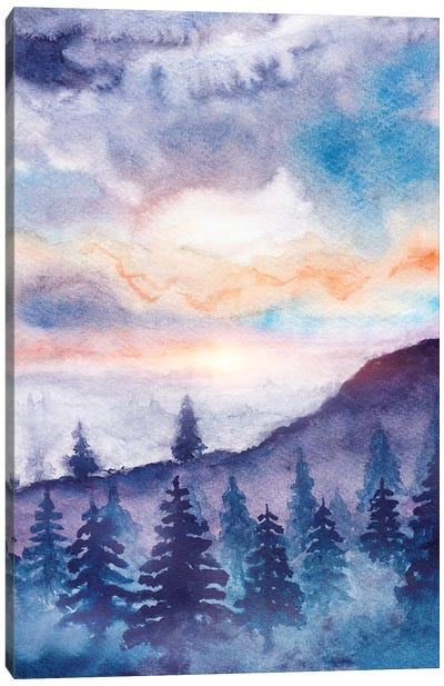 Into The Forest IX Canvas Art Print
