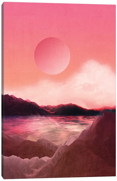 Landscape & Modern Graphic I Canvas Art Print
