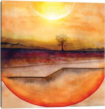 Lone Tree III Canvas Art Print