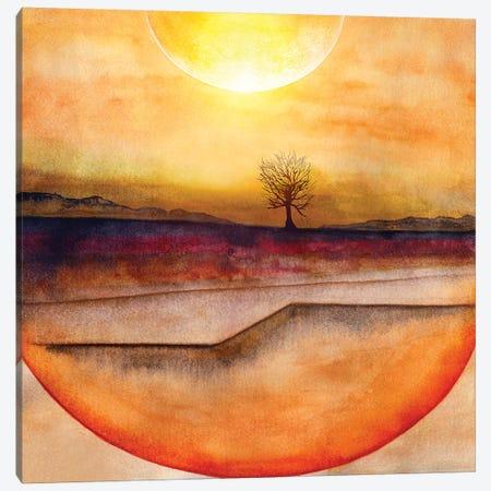 Lone Tree III Canvas Print #GNZ62} by Marco Gonzalez Canvas Wall Art