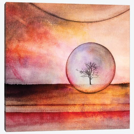 Lone Tree IV Canvas Print #GNZ63} by Marco Gonzalez Canvas Artwork