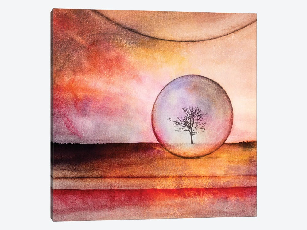 Lone Tree IV by Marco Gonzalez 1-piece Canvas Wall Art