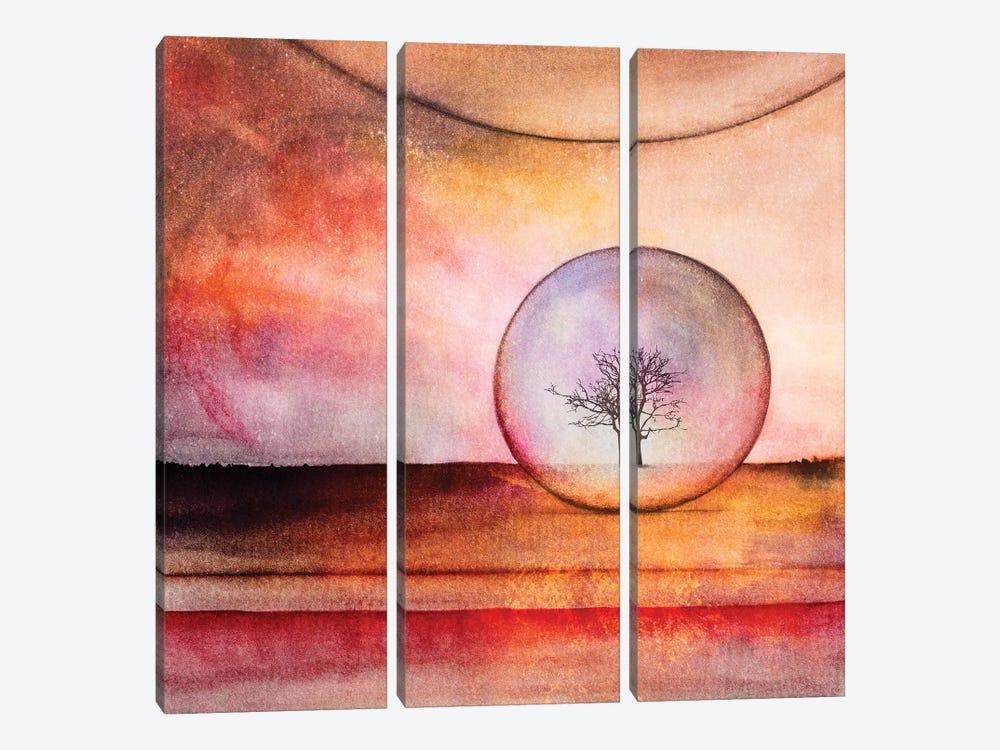 Lone Tree IV by Marco Gonzalez 3-piece Canvas Art