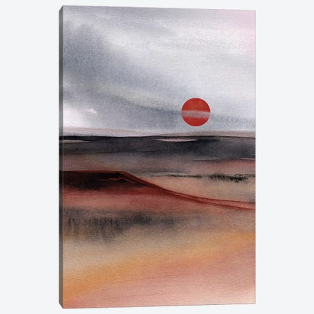 Red Sun III Canvas Print #GNZ69} by Marco Gonzalez Canvas Art