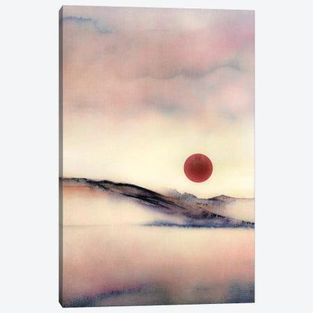 Red Sun VII 3-Piece Canvas #GNZ70} by Marco Gonzalez Canvas Print