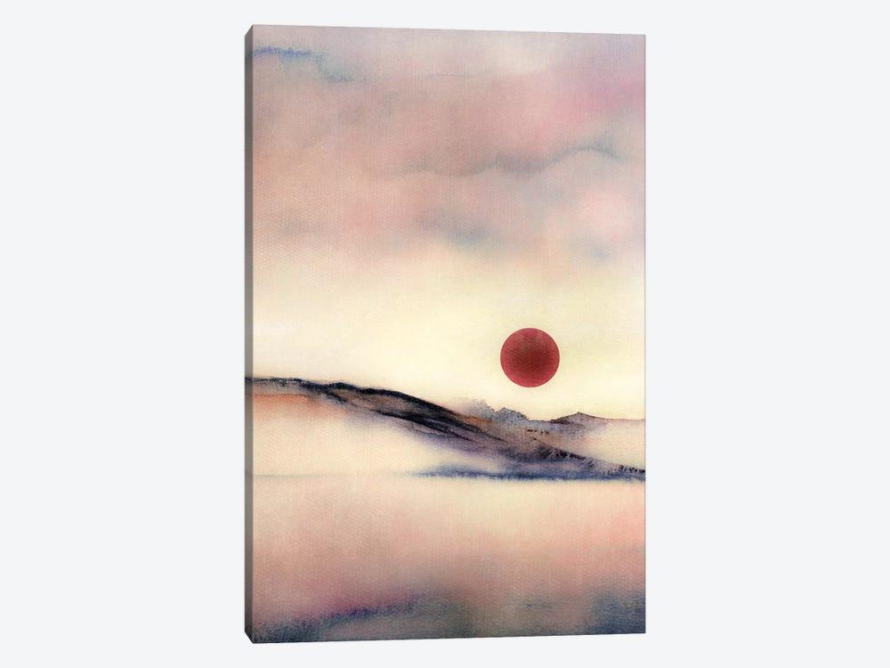 Red Sun VII by Marco Gonzalez 1-piece Canvas Wall Art