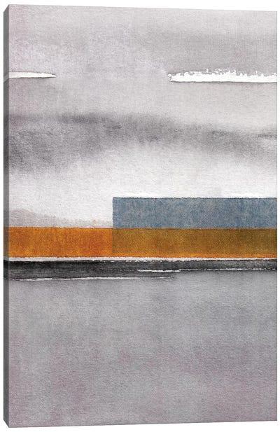 Abstract Watercolor Landscape IV Canvas Art Print