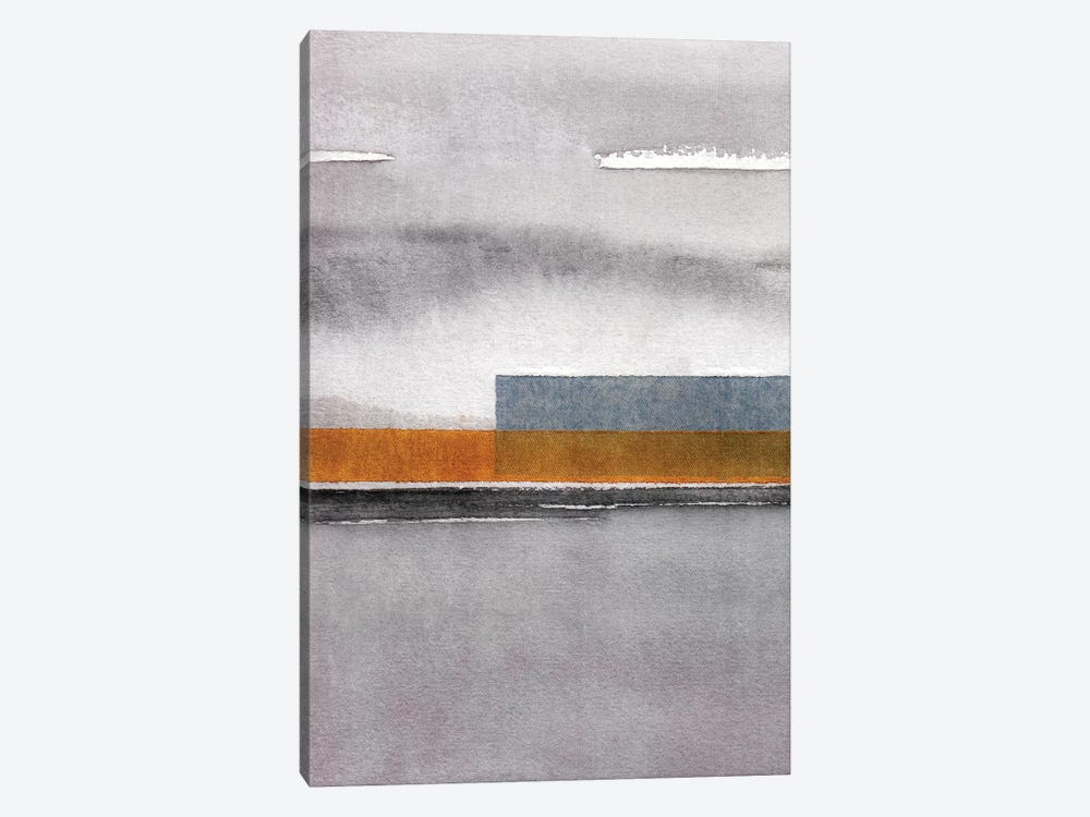 Abstract Watercolor Landscape IV by Marco Gonzalez 1-piece Canvas Wall Art
