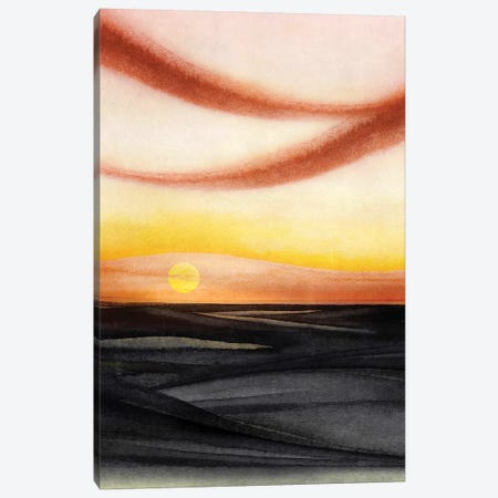 Abstract Watercolor Landscape V Canvas Print #GNZ79} by Marco Gonzalez Canvas Print