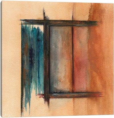 Lines V Canvas Art Print