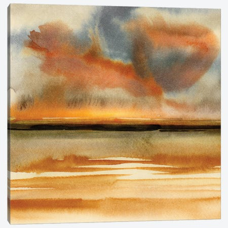 Abstract Watercolor Landscapes VII Canvas Print #GNZ91} by Marco Gonzalez Canvas Print