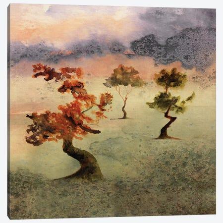Abstract Watercolor Landscapes V Canvas Print #GNZ92} by Marco Gonzalez Canvas Art Print