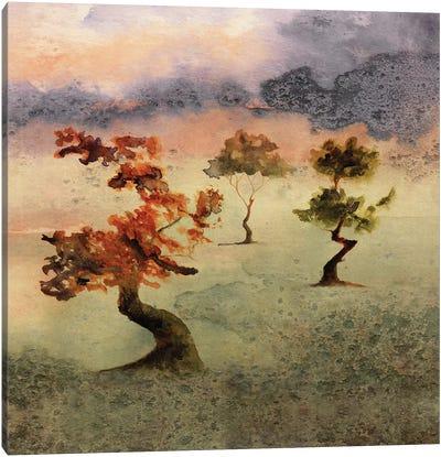 Abstract Watercolor Landscapes V Canvas Art Print