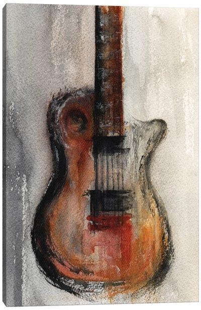 Guitar Canvas Art Print