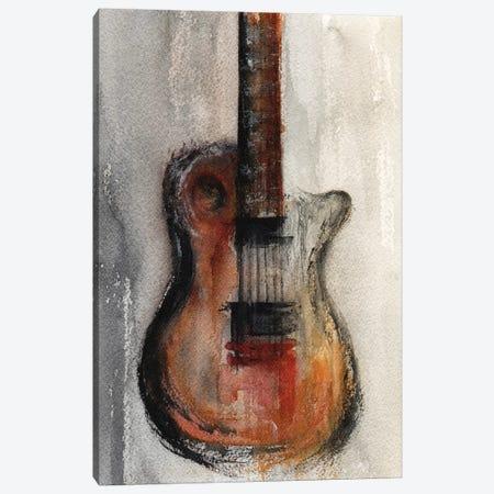 Guitar 3-Piece Canvas #GNZ93} by Marco Gonzalez Canvas Art Print