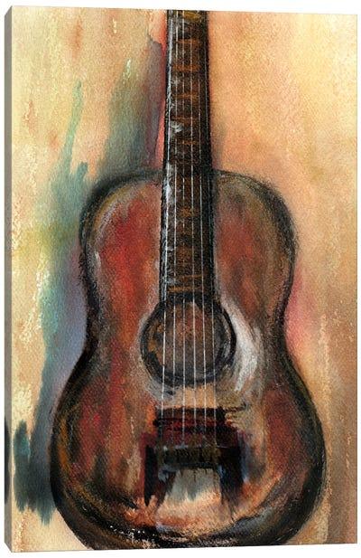 Retro Music Canvas Art Print