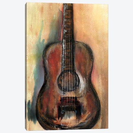 Retro Music Canvas Print #GNZ94} by Marco Gonzalez Canvas Artwork