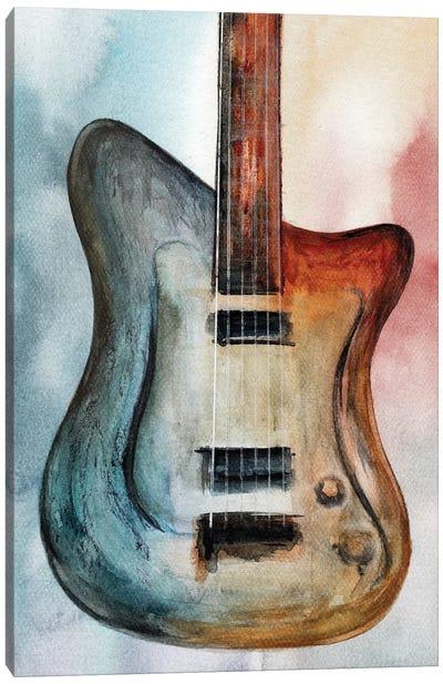 Retro Music III Canvas Art Print