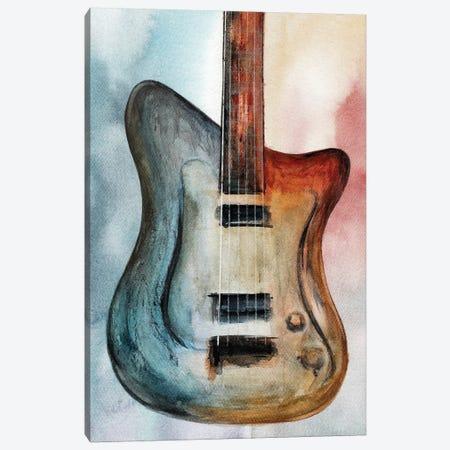 Retro Music III Canvas Print #GNZ95} by Marco Gonzalez Canvas Wall Art
