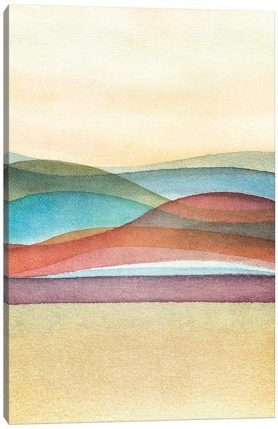 Trippy Landscape II Canvas Art Print