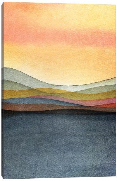 Trippy Landscape III Canvas Art Print