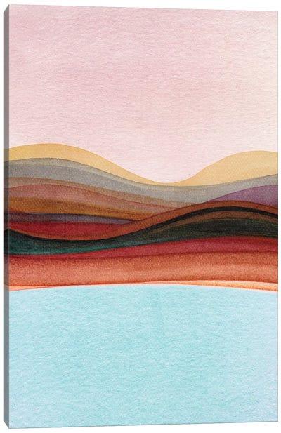 Trippy Landscape IV Canvas Art Print