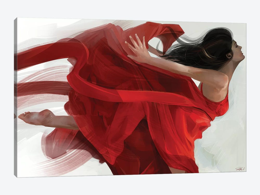 Dance by Steve Goad 1-piece Canvas Art