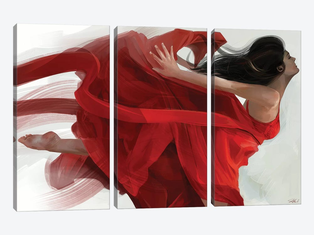 Dance by Steve Goad 3-piece Canvas Art
