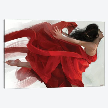 Dance Canvas Print #GOA10} by Steve Goad Art Print