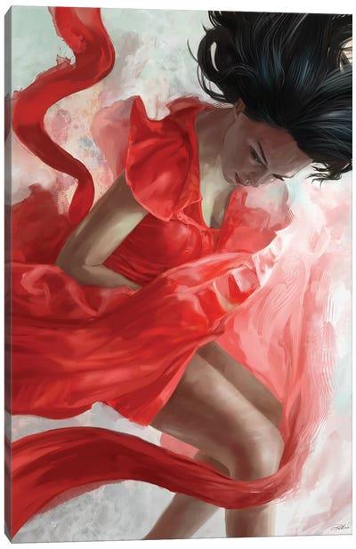 Descension Canvas Art Print