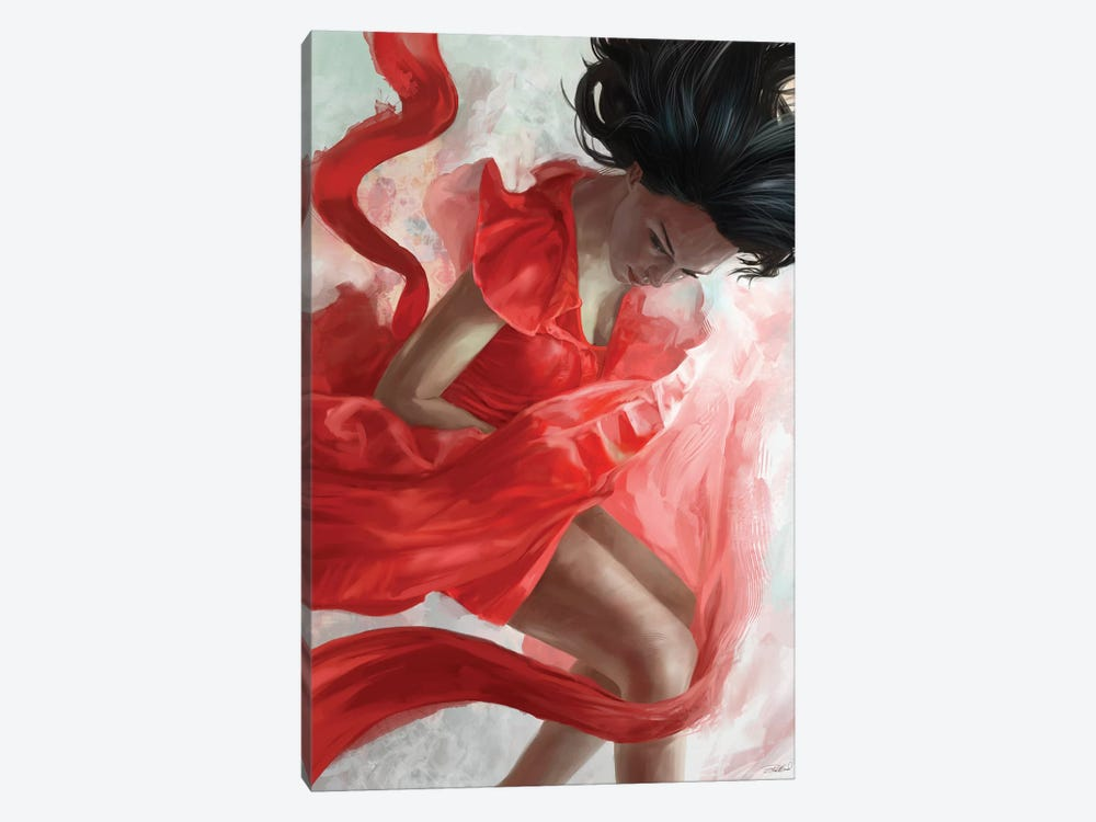 Descension by Steve Goad 1-piece Canvas Print