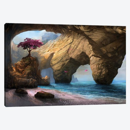 Fragility Of Life Canvas Print #GOA13} by Steve Goad Canvas Print