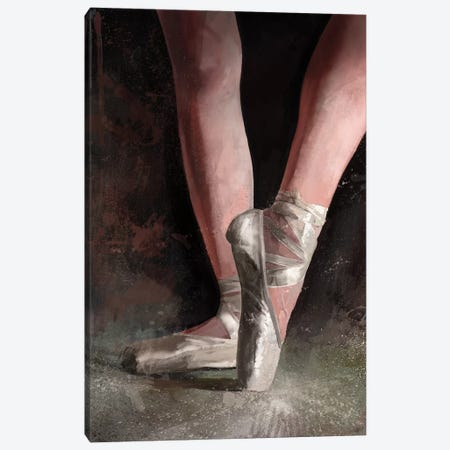Graceful Slippers Canvas Print #GOA15} by Steve Goad Canvas Artwork