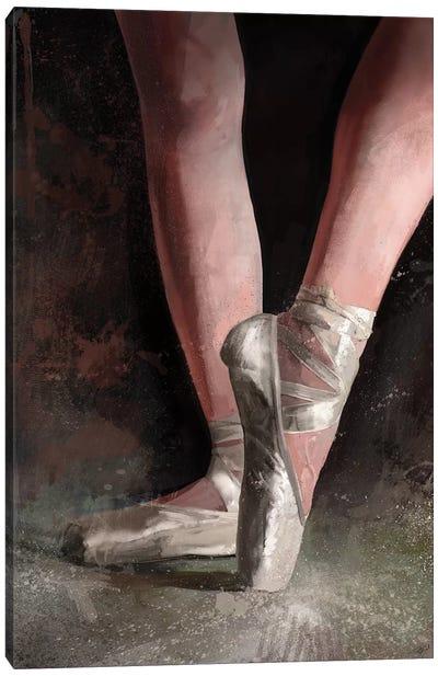 Graceful Slippers Canvas Art Print