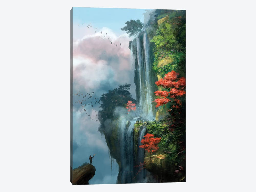 In The Clouds by Steve Goad 1-piece Canvas Artwork