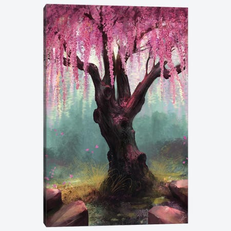 Ode To Spring Canvas Print #GOA19} by Steve Goad Art Print