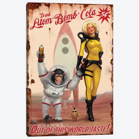 Out Of This World Taste Canvas Print #GOA20} by Steve Goad Canvas Wall Art