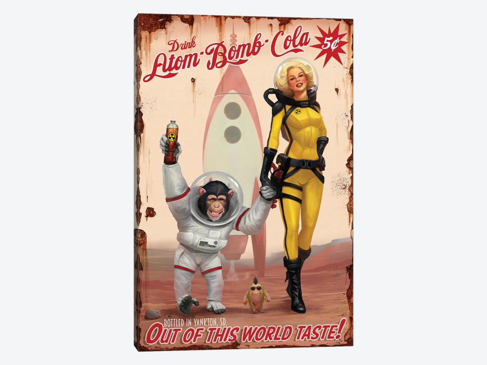 Out Of This World Taste by Steve Goad 1-piece Art Print