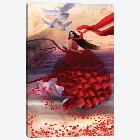 Reflecting Back Canvas Print #GOA22} by Steve Goad Canvas Art