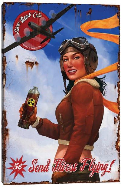 Send Thirst Flying Canvas Art Print