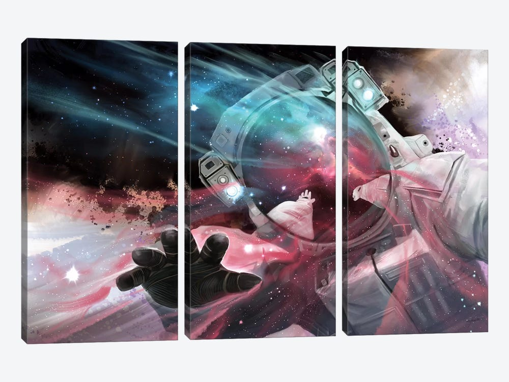 Stardust by Steve Goad 3-piece Canvas Art Print
